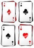 Spielkarten1710e Στοκ φωτογραφίες με δικαίωμα ελεύθερης χρήσης