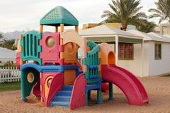 A.-Spielkomplex der Kinder. Stockbild
