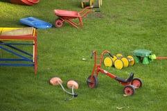Spielplatz Stockbild