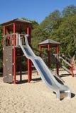 Spielplatz auf Sand Stockbilder