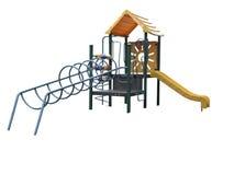 Spielplatz-Ausrüstung der Kinder Stockbilder