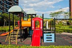 Spielplatz der Kinder Stockfotos