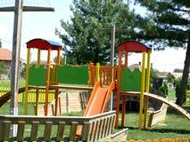 Spielplatz der Kinder lizenzfreies stockbild