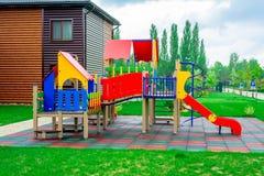 Spielplatz der Kinder Lizenzfreie Stockfotos