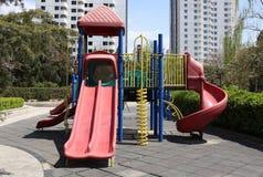 Spielplatz in der Kindertagesstätte Stockfotografie