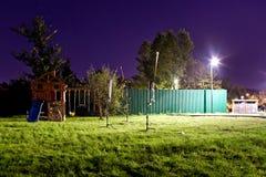 Spielplatz der leeren Kinder Lizenzfreie Stockfotos