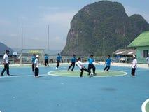 Spielplatz in der Schule Lizenzfreie Stockbilder