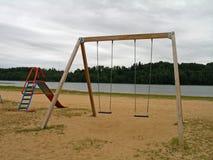 Spielplatz an einem falschen Tag Lizenzfreie Stockbilder