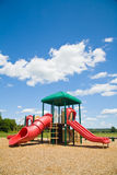Spielplatz an einem sonnigen Tag Stockbilder