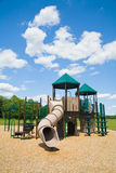 Spielplatz an einem sonnigen Tag lizenzfreies stockbild