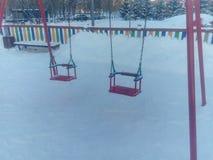Spielplatz für Kinder Stockbilder