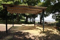 Spielplatz mit Aussicht Stockfotografie