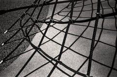 Spielplatz-Seil Stockfotos