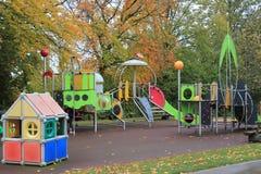 Spielplatz und Farben Stockfoto