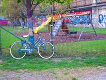 Spielplatz in Wien stockfotografie