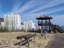 Spielplatz in Yeosu-Stadt Lizenzfreie Stockbilder