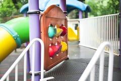 Spielplatzdetails Stockbilder