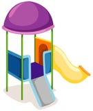 Spielplatzplättchen Lizenzfreies Stockfoto