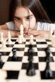 Spielschach Lizenzfreie Stockfotografie