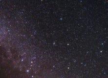 Spielt Konstellation im Himmel die Hauptrolle Lizenzfreie Stockfotografie