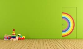 Spielt Raum Stockfotografie