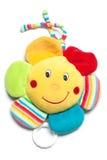 Spieluhr in der Stoffblume für kleine Kinder Stockbild