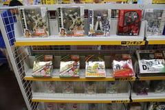 Spielwaren bei Akihabara Tokyo, Japan Lizenzfreies Stockbild