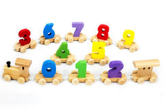 Spielwaren für Kinder, Laubsäge, Geometrie Lizenzfreies Stockbild