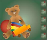 Spielwaren für Weihnachten Lizenzfreie Stockfotos