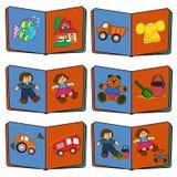 Spielwaren und Kinder Lizenzfreie Stockfotos