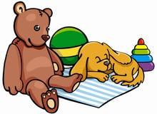 Spielwarenillustration der Kinder Stock Abbildung