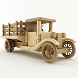 Spielzeug-Bauernhof-LKW Lizenzfreies Stockfoto