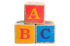 Spielzeug-Blöcke Stockbilder