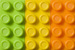 Spielzeug blockt Hintergrund Stockbild