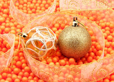 Spielzeug des neuen Jahres Stockbild