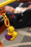 Spielzeug des schlafenden Schätzchens Stockfotos