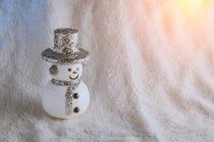 Spielzeug des Schneemannes Stockbilder