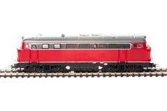 Spielzeug-Diesellokomotive stockbilder
