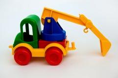 Spielzeug-Exkavator Stockfotos