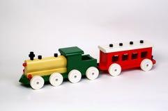 Spielzeug-hölzerne Serie Lizenzfreies Stockfoto