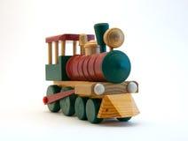 Spielzeug-hölzerner Serien-Motor Stockfotografie