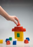 Spielzeug-Haus Stockfotografie