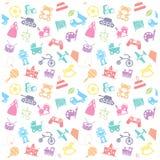 Spielzeug Ikone und Hintergrund Stockbilder