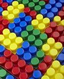 Spielzeug lego Blockaufbau-Ausbildungskindheit Stockbilder