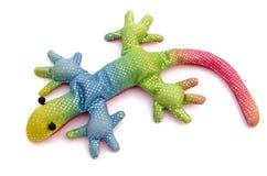 Spielzeug Lizzard Lizenzfreie Stockfotos