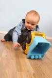 Spielzeug-LKW Lizenzfreies Stockfoto