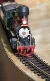 Spielzeug-Lokomotive Stockfotos