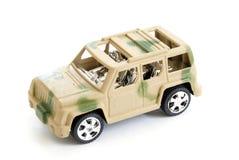 Spielzeug-Militärfahrzeug Stockbilder