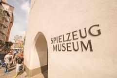 Spielzeug-Museum München Stockfotos