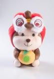 Spielzeug oder chinesisches Jahr der Affe-Plüschtier-Kinderspielwaren Lizenzfreie Stockfotos